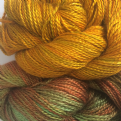 Hand Dyed Fine Silk 100gms